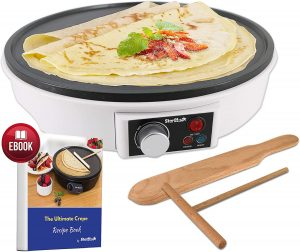 12 inch Electric Crepe Maker by Starblue