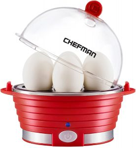 Chefman Electric Egg Cooker Boiler, Rapid Egg Maker