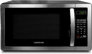 Farberware 1.1 Cu. Ft. Stainless Steel Countertop Microwave Oven