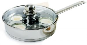 Norpro Skillet Set, Stainless steel egg poacher 10 inch