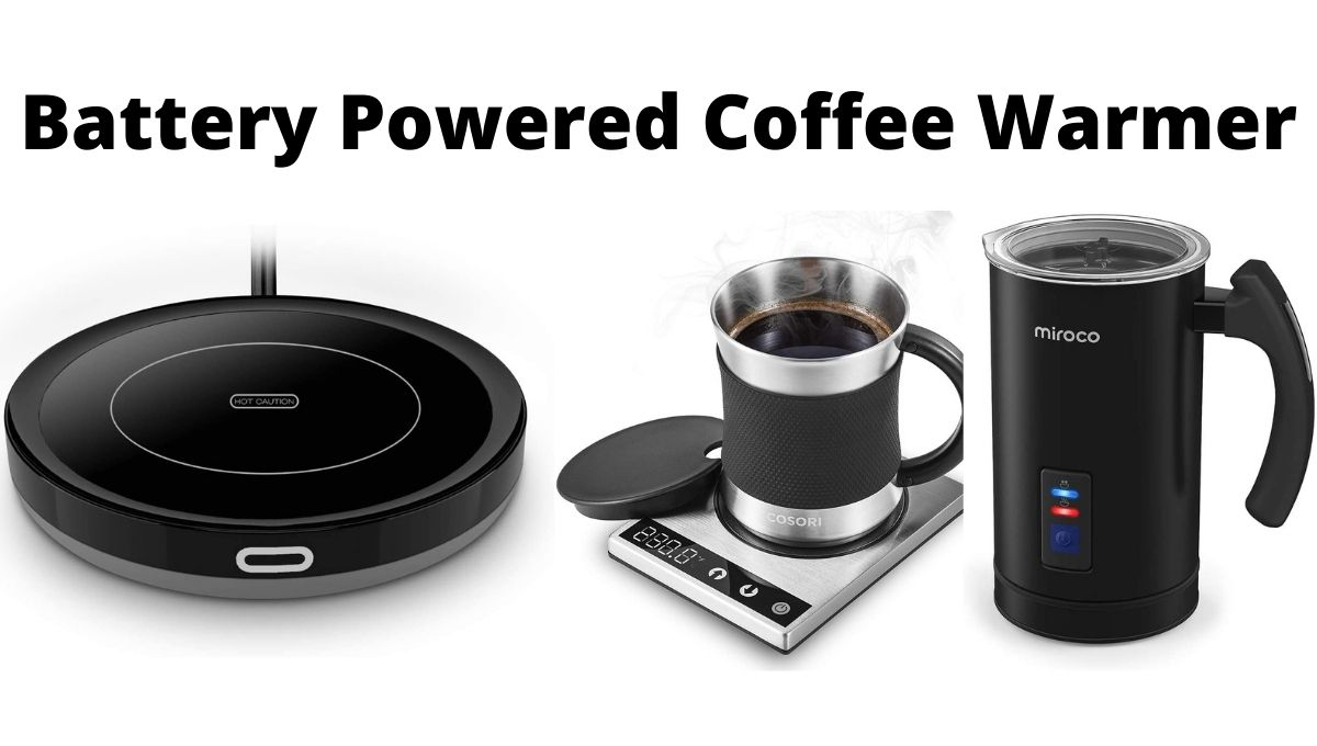 Battery Powered Coffee Warmer