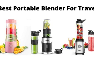 5 Best Portable Blender For Travel Buying Guide