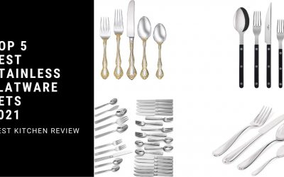 Top 5 Best Stainless Flatware Sets 2021